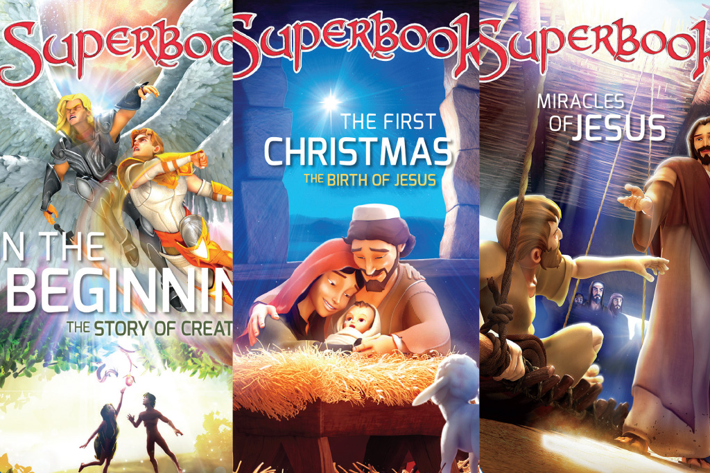 Superbook Series Now on DVD