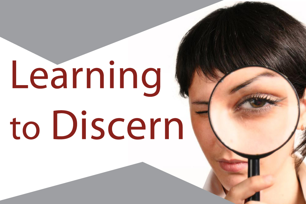 Learning to Discern