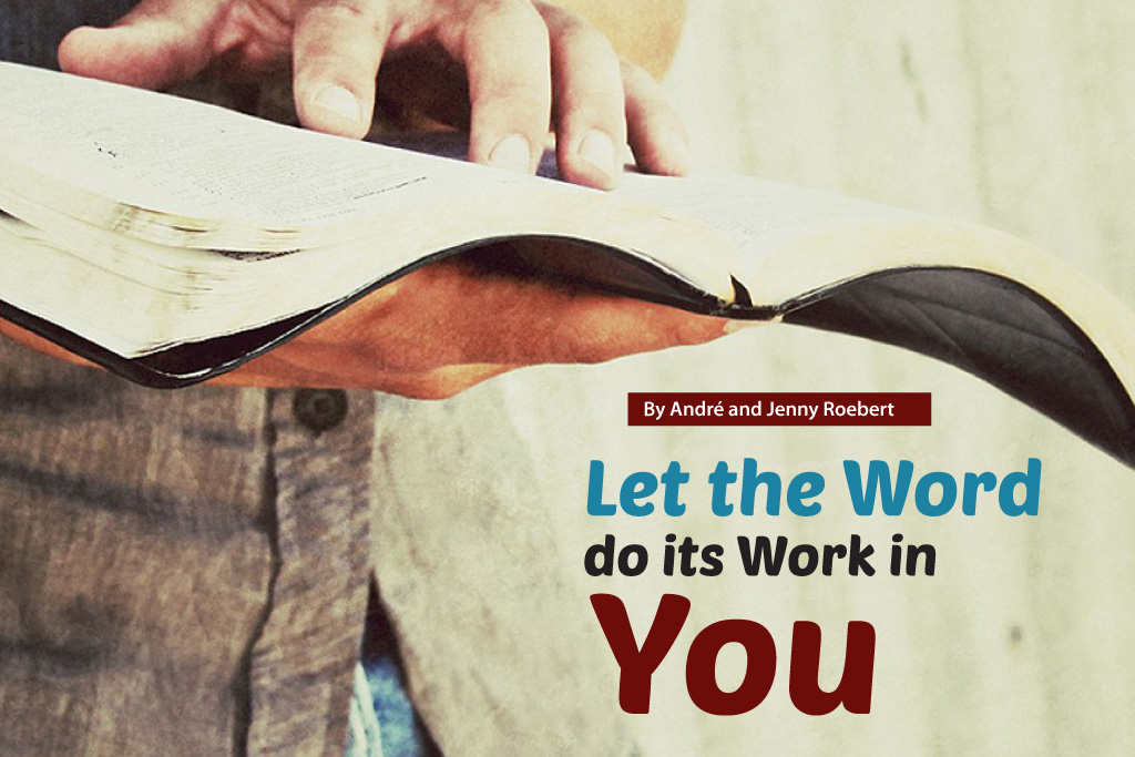 Let the Word do its Work in You