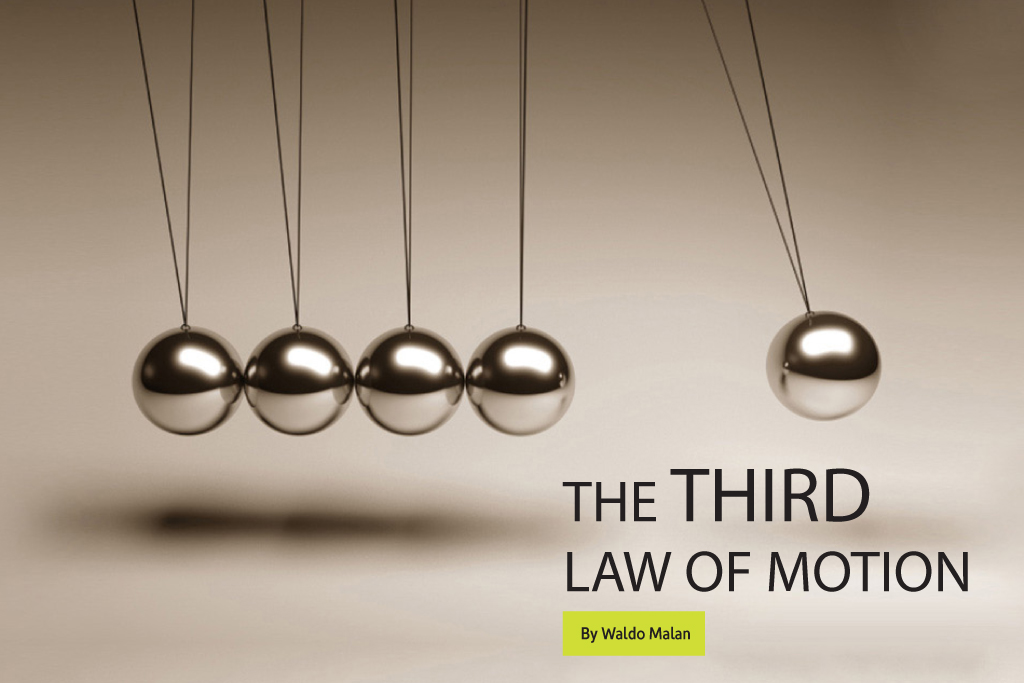 The Third Law of Motion